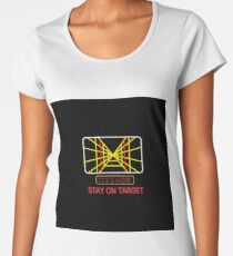 Stay On Target Use the Force Women's Premium T-Shirt