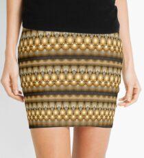 Golden Balls (pattern) Mini Skirt