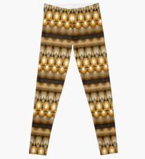 Golden Balls (pattern) Leggings