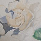 a simple gardenia 'for the love of flowers' © 2007 patricia vannucci  by PERUGINA