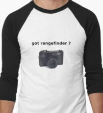 got rangefinder? Men's Baseball ¾ T-Shirt