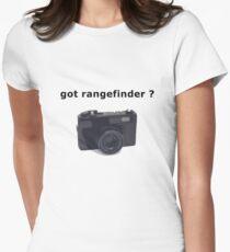 got rangefinder? Women's Fitted T-Shirt