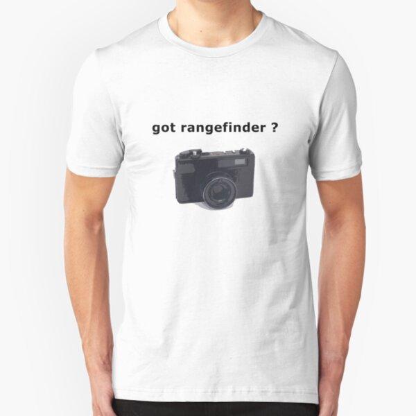 got rangefinder? Slim Fit T-Shirt