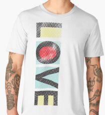Love - Modern Graphic Typography Men's Premium T-Shirt