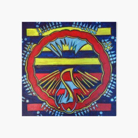 Hexagram 13: T'ung Jên (Fellowship) Art Board Print
