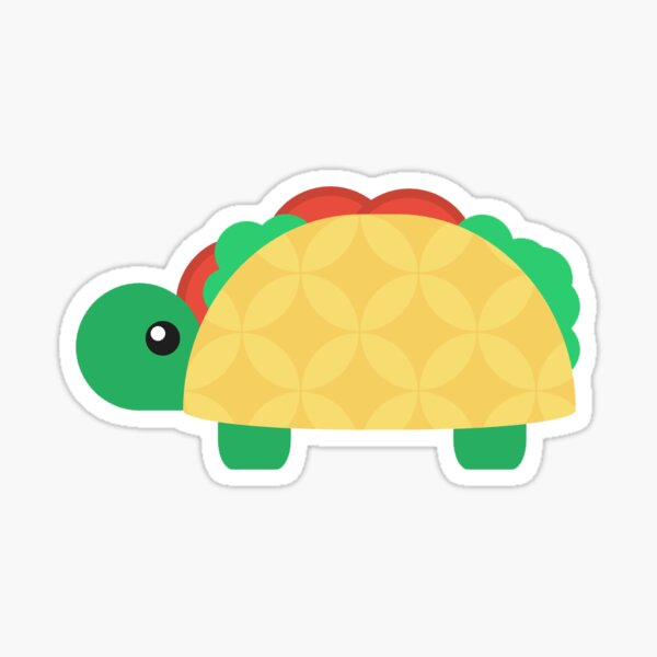 Taco Turtle  Sticker