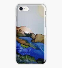 Golden Sun Rising iPhone Case/Skin