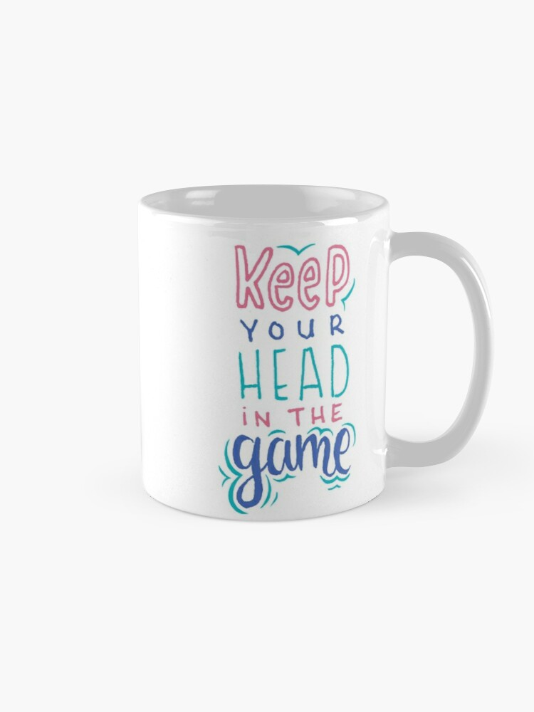 Alternate view of Keep Your Head In The Game Mug