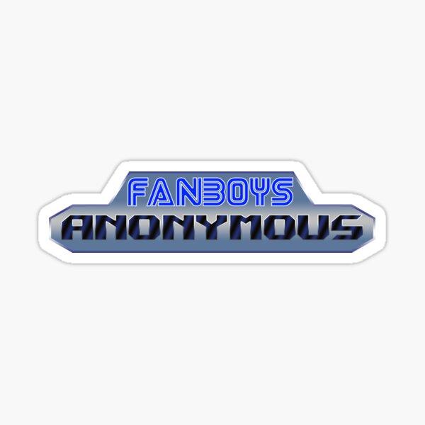 Fanboys Anonymous (Sega Genesis version) Sticker
