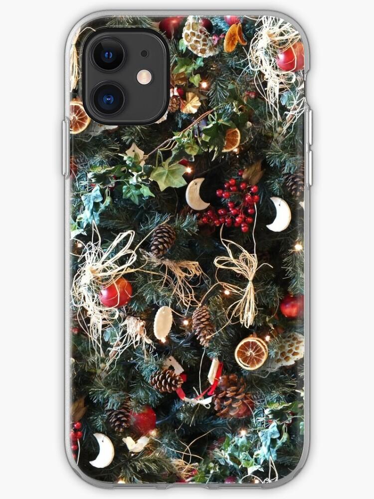 Christmas Tree Pattern iphone case