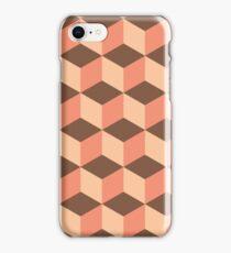 Geometric vector background iPhone Case/Skin