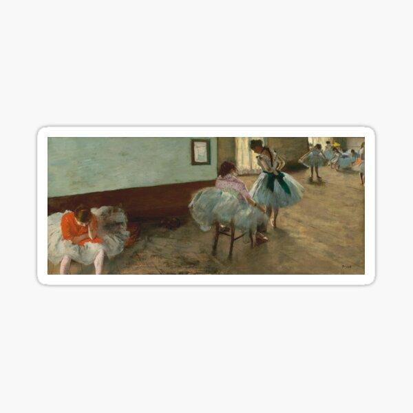 The Dance Lesson - Edgar Degas Sticker
