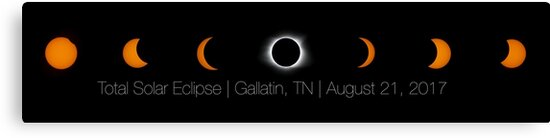Total Solar Eclipse Composite | Gallatin, TN | August 21, 2017 by Christian Sheehy