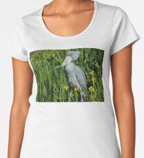 Shoebill Stork Women's Premium T-Shirt