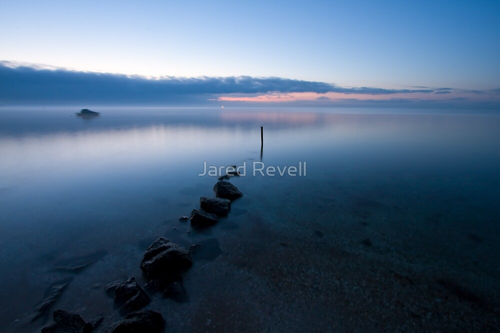 Fog Over The Bay by Jared Revell