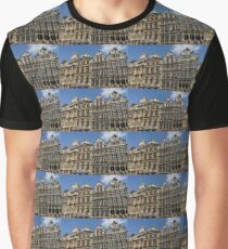 Postcard from Brussels - Grand Place Facades Graphic T-Shirt
