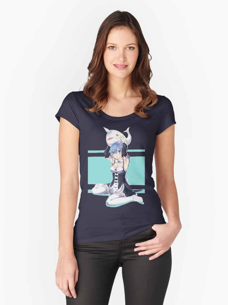 Rem Women's Fitted Scoop T-Shirt Front
