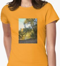 On Golden Waters, the Pocantico River  T-Shirt