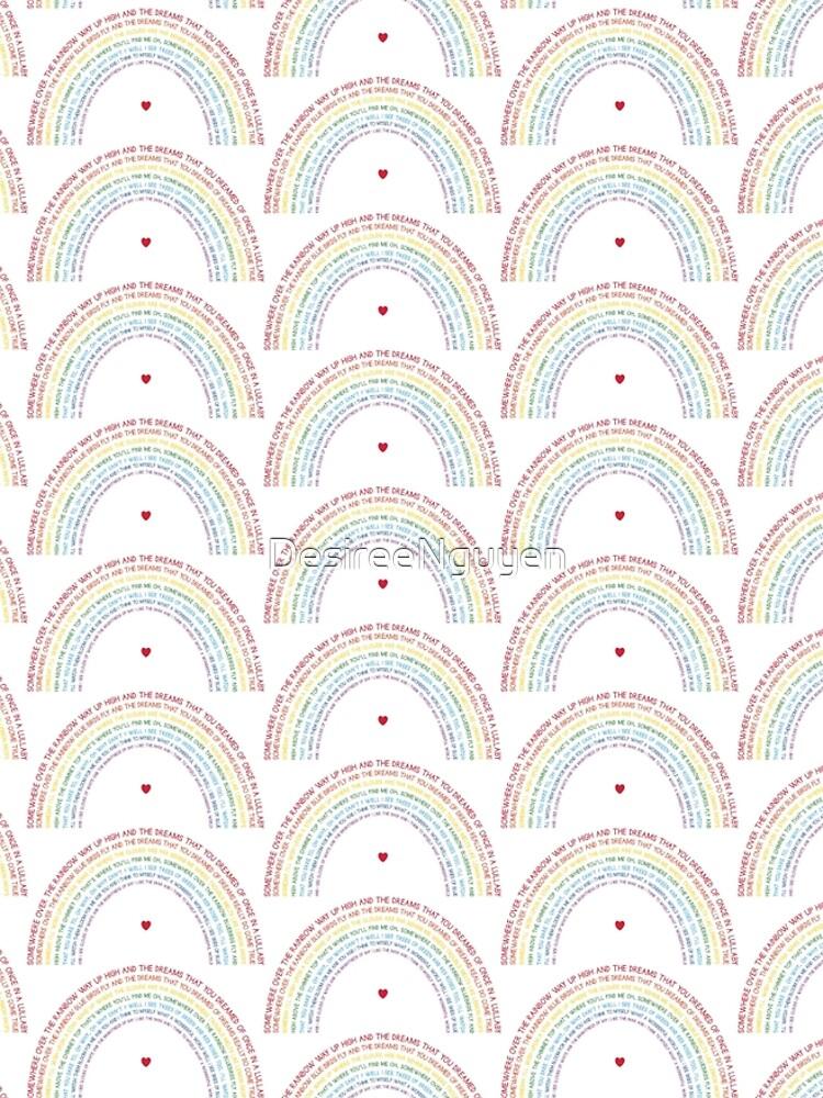 Somewhere Over the Rainbow by DesireeNguyen