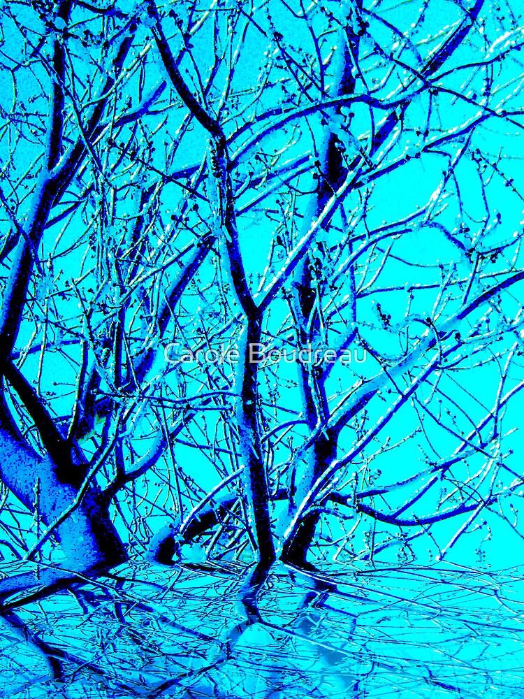 """Merry Snow Tree"" by Carole Boudreau"