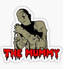"La Momia ""The Mummy""  Camiseta de Película de Terror. Sticker"
