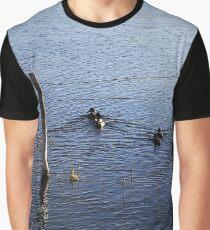 Duck Pond Graphic T-Shirt