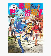 Konosuba! Photographic Print