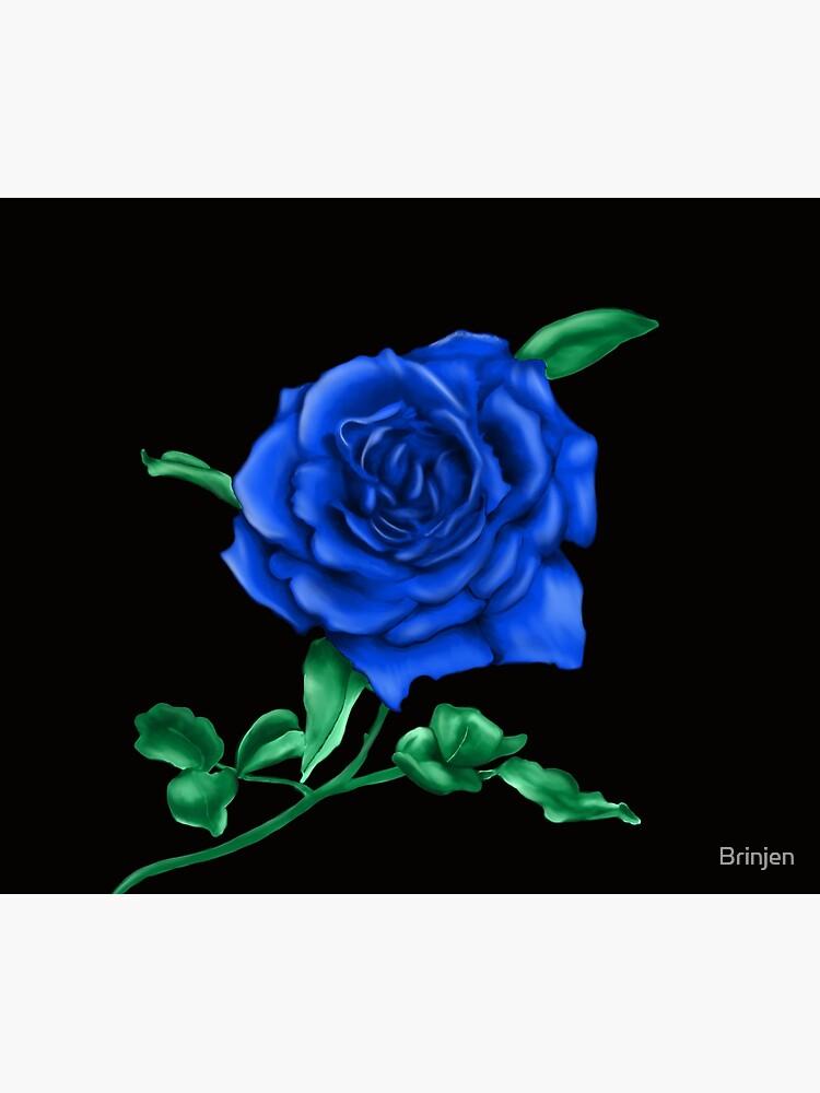 Blue Rose by Brinjen