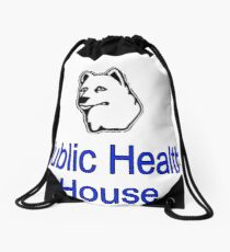 Public Health House Drawstring Bag