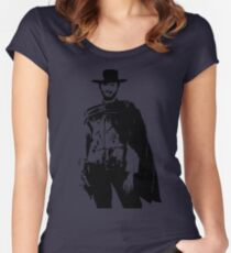 Clint Eastwood The Good, The Bad and The Ugly Fitted Scoop T-Shirt