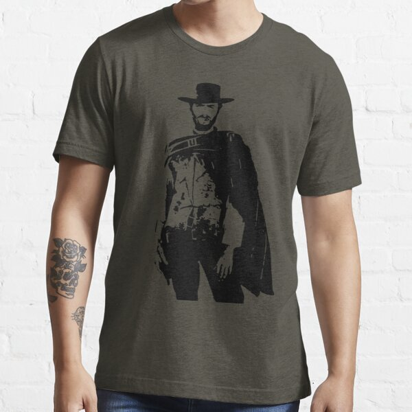 Clint Eastwood The Good, The Bad and The Ugly Essential T-Shirt