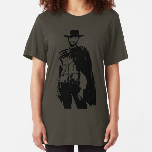 Clint Eastwood The Good, The Bad and The Ugly Camiseta ajustada