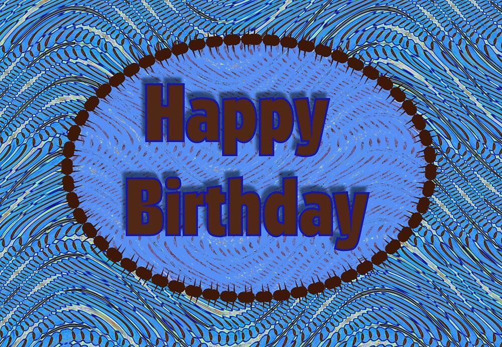 """Happy Birthday Blue"" By Donna Grayson"