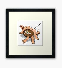 Man Spider Framed Print