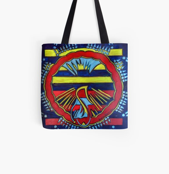 Hexagram 13: T'ung Jên (Fellowship) All Over Print Tote Bag
