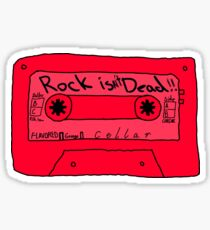 They Say That Rock Is Dead Sticker