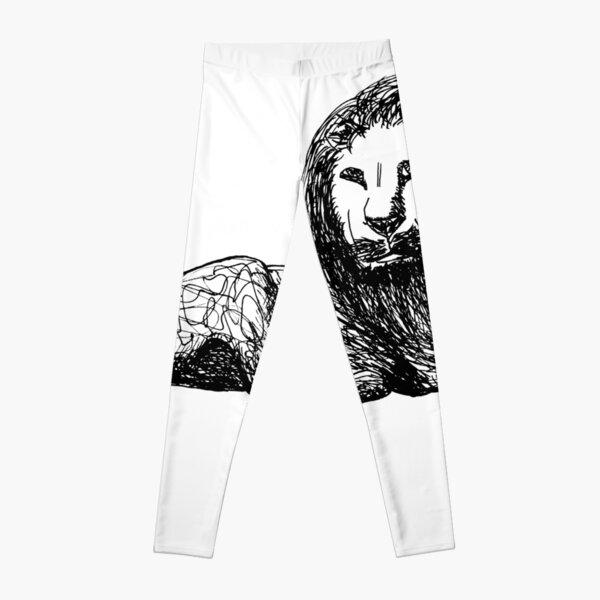 Lion of Lion Leggings