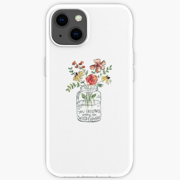 Flower Quote iPhone Soft Case