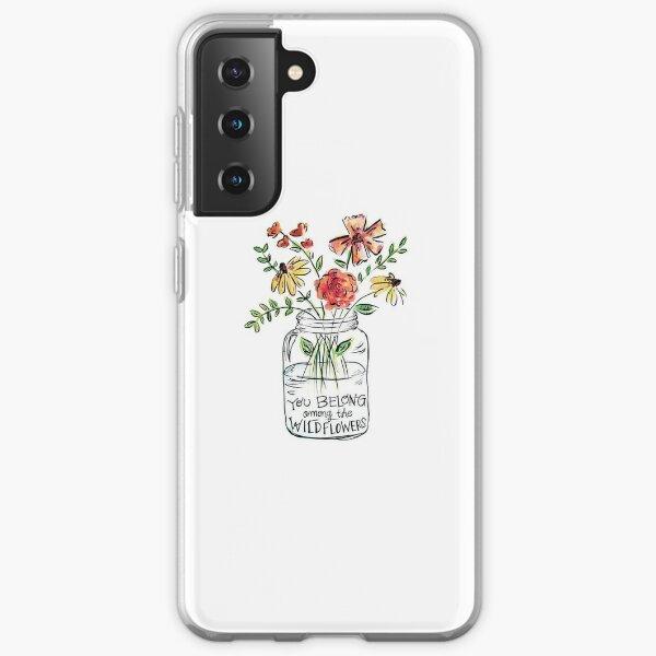 Flower Quote Samsung Galaxy Soft Case