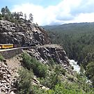 Vintage Train, San Juan Mountains, Durango, Colorado by lenspiro