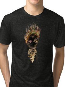Tiki Fire God Tri-blend T-Shirt