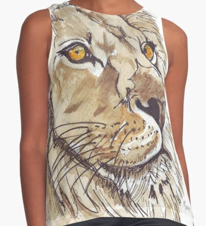 Dominion (African Lion) Sleeveless Top