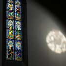 Lights and Colors - Stained Glass Church Window by Georgia Mizuleva
