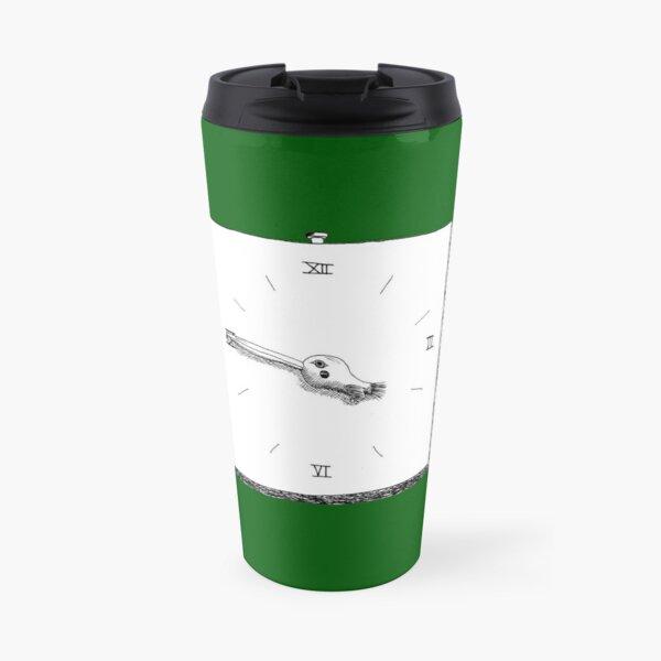 Bird Clock Travel Mug