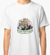 Anime club of Brave Blond and Armless (but not Harmless) Classic T-Shirt