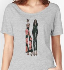 Chloe X Halle Women's Relaxed Fit T-Shirt