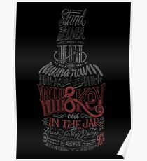 Whiskey Red Version Poster