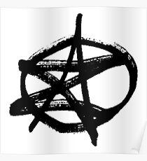 AZ Signature Logo Poster