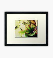Easter Amaryllis Framed Print