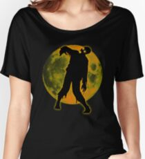 Halloween Funny Dead Man Walking - Party T-shirt  Women's Relaxed Fit T-Shirt